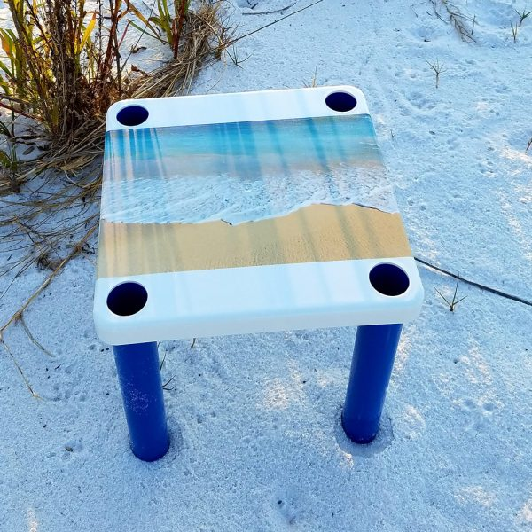 Ocean Sand by Yellow Dog Table